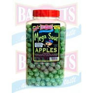 Barnetts Mega Sour Apple Balls 3kg jar