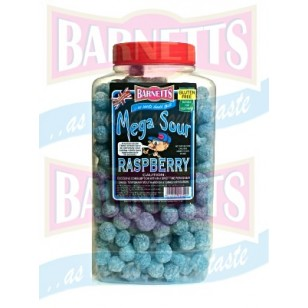 BARNETTS MEGA SOUR Raspberry 3kg jar
