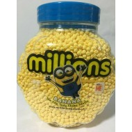 Millions Banana Flavoured Sweets 2.27kg Full Jar Ideal Wedding/party Bag Kids