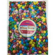kingsway milk chocolate beans Smarties Retro Party Sweets 1kg bags FREE POSTAGE