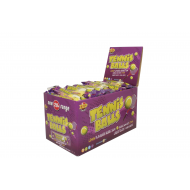 Zed Candy Tennis Balls Bubble Gum Lemon Flavour Box Of 45 Units
