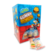 Crazy Candy Factory Mini Gummy Burgers 10g A Great Novelty Sweet 100 In Each Box