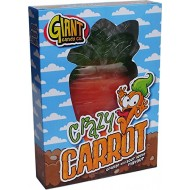 Giant Candy Crazy Carrot, 800 g ORANGE & SOUR APPLE FLAVOUR EASTER