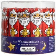 Riegelein Solid Santa Claus 65 Pieces (812,5g) - Milk Chocolate