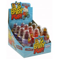 bazooka Big Baby Flavoured candy sherbet Pop 12 x 1