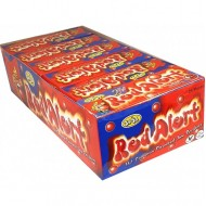 Red Alert Hot Cinnamon Flavoured Jaw Breakers X 45g X 24 Packs Suitable For Vegetarians Halal