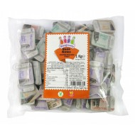 Milk Chocolate Bank Notes Solid Shapes 1kg Approx. 84 Pieces Suitable For Vegetarians