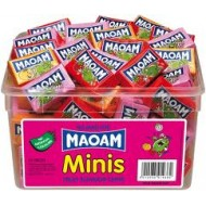 Maoam Minis Fruit Flavour Chews - 60 Pack