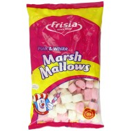 Marshmallows Pink & White 1kg By Frisia Kids Party Gift Wedding