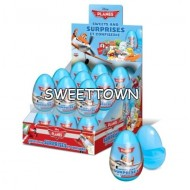 Disney Planes Sweets And Surprise Eggs 10g - 18 Pcs Full Box