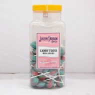 JOSEPHDOBSON LARGE Candy FlossFlavour Mega 90 Lollies JAR GIFT SWEETS KIDS PARTY
