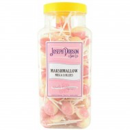 JOSEPH DOBSON LARGE Marshmallow Mega 90 Lollies JAR GIFT SWEETS KIDS PARTY