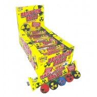 Zed Candy Radiation Balls Gumballs With Sour Centre 30 Pack Halal
