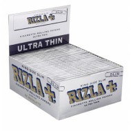 Rizla Kingsize Silver Slim Papers 50 Booklets