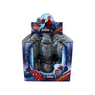 Spiderman Egg Spray Candy Box Of 24 Units