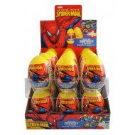 Spiderman Sweets And Surprise Egg 10g - Full Box Of 18 Egg