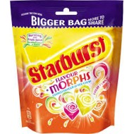 Starburst Flavour Morphs 214g (4 Packs)