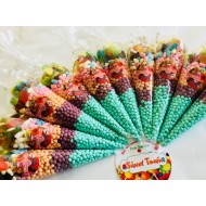 Millions Sweet Cones Pre Filled Kids Party Birthday & Wedding 12 Cones Large