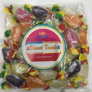 Tillys Jargonelle Pears Wrapped fruit flavour boiled sweets. as they 1kg BAGS FREE POSTAGE