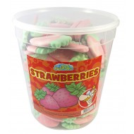 Crazy Candy Factory Foam Strawberry Tub 75 pieces