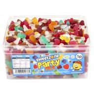 Sweetzone Vegan Party Mix 600 Pieces Halal Hmc Sweets Tubs