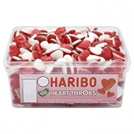 HARIBO HEART THROBS JELLY SWEETS - 300 PACK