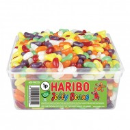 HARIBO JELLY BEANS 600 in each Tub SUITABLE FOR VEGETARIANS