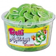 Trolli APPLE RINGS  TUB 150 (1200g