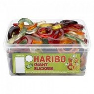 HARIBO GIANT SUCKERS - 60 PACK