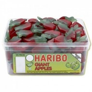 HARIBO GIANT APPLES - 120 PACK SUITABLE FOR VEGETARIANS