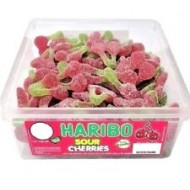 HARIBO SOUR CHERRIES - 120 PACK