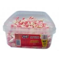 Heavenly Delights Strawberry Milkshakes Tub Of 600 Pcs *Halal Hmc Certified