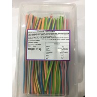 Sweetzone Halal Rainbow Pencils 100 In Tub Hmc