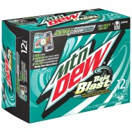 Mountain Dew Baja Blast, American 12 Oz Cans (Pack Of 12)