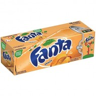 Fanta Peach 355 Ml (Pack Of 12) American Import Usa Soda