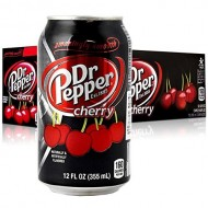 Dr.pepper Dr Pepper Cherry 355ml X12 American Import Usa