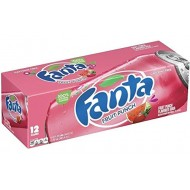 Fanta Fruit Punch Can Soda 355 Ml (Pack Of 12) American Import Usa Soda