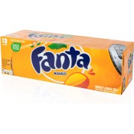 Fanta Mango, 12 Fl Oz/355 Ml, Pack Of 12 American Import Usa Soda