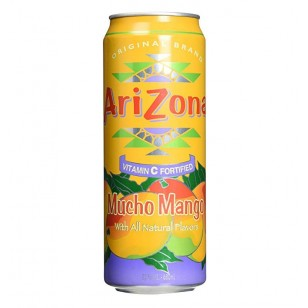 Arizona Mucho Mango 23.5oz (695ml) (Pack Of 6)