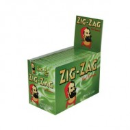 Zig Zag Green Regular Cigarette Papers (Full Box 100 Packs)